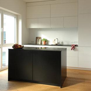 Minimalistische Küche stilvoll und elegant