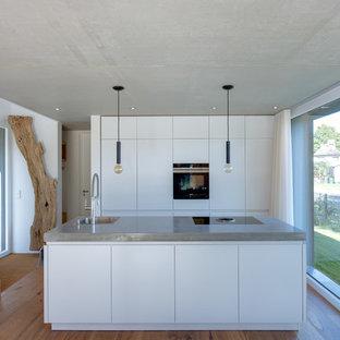 Minimalistisches Ferienhauses in Anlehnung an ein traditionelles Drempelhaus