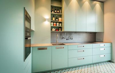 Neu auf Houzz: 5 Küchen in Grün und Blau