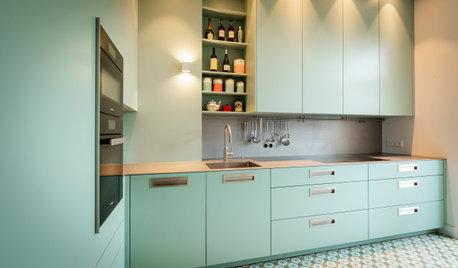 5 Küchen in Grün und Blau von Profis geplant