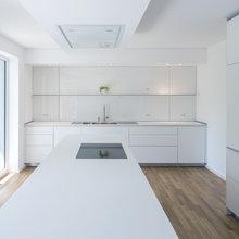 Bauhaus-Look Küche - Minimalistisch - Küche - Sonstige
