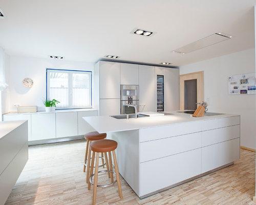 Küche Ohne Griffe - Ideen & Bilder | Houzz
