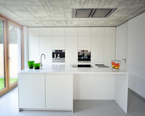 k chen mit k cheninsel in essen ideen design bilder houzz. Black Bedroom Furniture Sets. Home Design Ideas