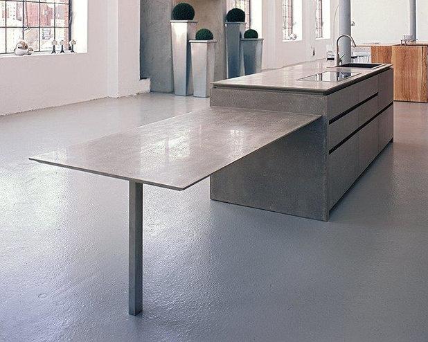 7 tipps wie sie eine arbeitsplatte aus beton einbauen. Black Bedroom Furniture Sets. Home Design Ideas