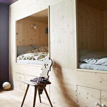 Inbyggd säng med förvaring