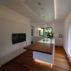 moderne kuche mit kucheninsel