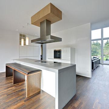 Moderne Villa im Denkmal Ensemble in Berlin