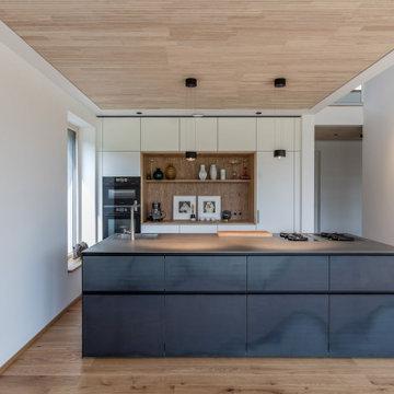 Modernes Holzhaus am Samerberg