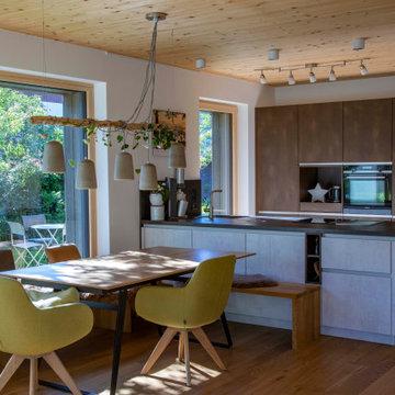 Modernes Holzhaus in Otterfing