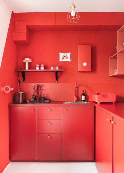 Contemporary Kitchen by Gleba+Störmer