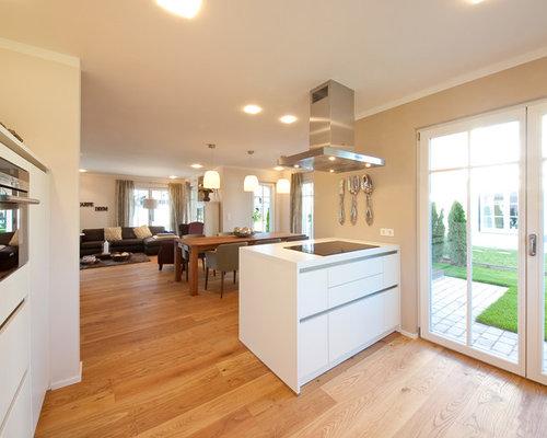 Moderne Küchen mit Arbeitsplatte aus Holz Ideen, Design & Bilder | Houzz