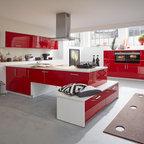 musterring k che mr2300 mr2850 farben nero grau asteiche contemporary kitchen. Black Bedroom Furniture Sets. Home Design Ideas