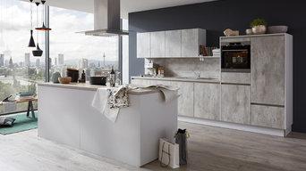 Musterring Küche | MR2850 | Farbe: Beton Natur