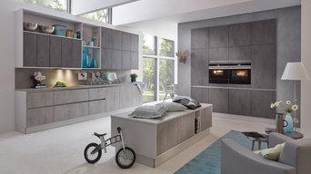Musterring Küche | MR2850 | Farben: Chromix dunkel / Chromix silber±
