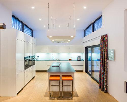 Küchen mit Granit-Arbeitsplatte Ideen, Design & Bilder   Houzz