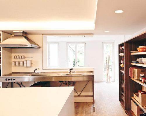 offene skandinavische k chen ideen bilder. Black Bedroom Furniture Sets. Home Design Ideas