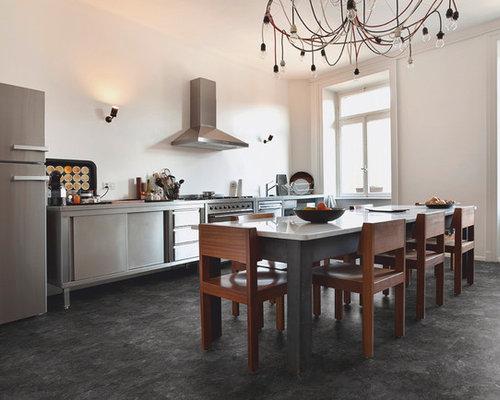 Küche mit Vinylboden - Ideen & Bilder