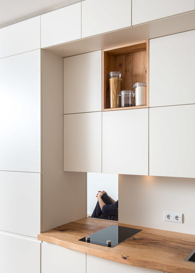 Modern Küche Offene Regale und der gewisse Durchblick