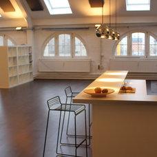 Modern Kitchen by Laux Interiors Berlin