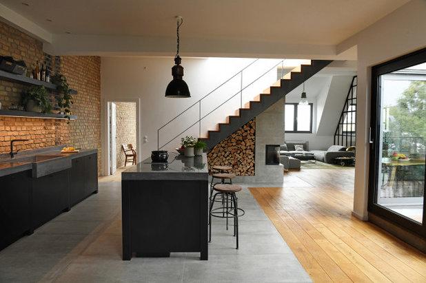 Лофт Кухня by Studio Swen Burgheim