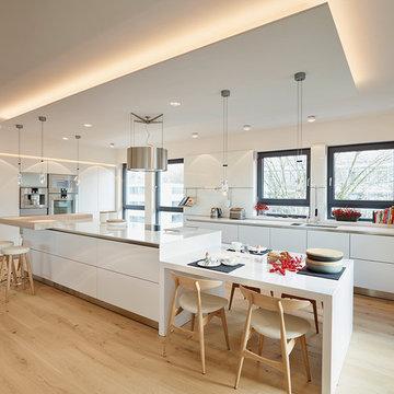 Penthouse Küche Insel