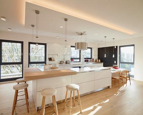 Küche Schwarz Weiß - Ideen & Bilder | HOUZZ