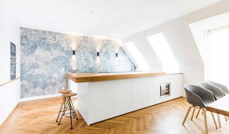 Houzzbesuch: Eine Penthouse-Wohnung mit viel Licht und Stauraum