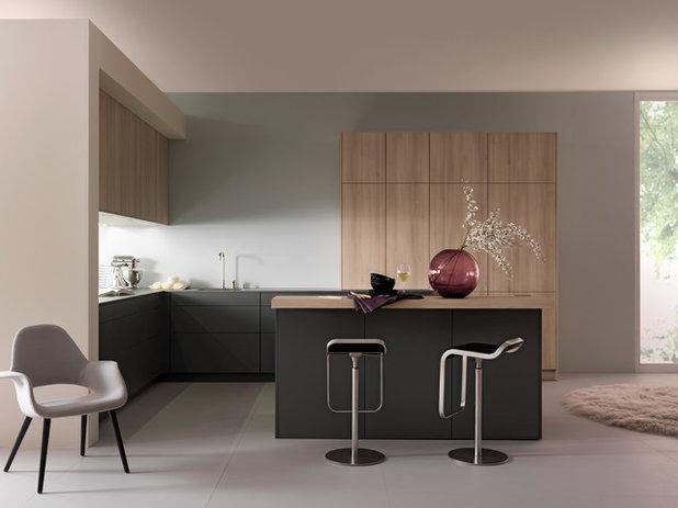 Wunderbar wandelbar: So verändert man Holz in Textur und Farbe | {Küchenschränke streichen vorher nachher 27}