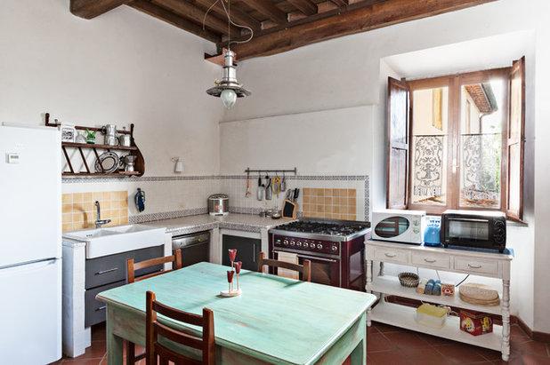 Credenza Da Abbinare A Cucina Moderna : Come avere una cucina in stile vintage mosse