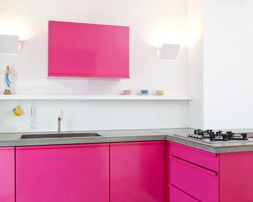 Küche Mit Side By Side   Popstahl Kuchen