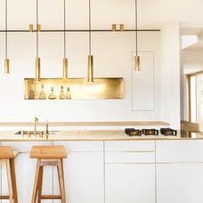 Contemporary Kitchen by ZEITRAUM