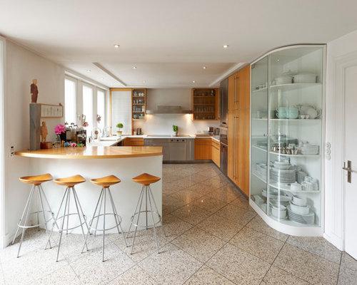 Moderne Küchen in U-Form Ideen, Design & Bilder   Houzz