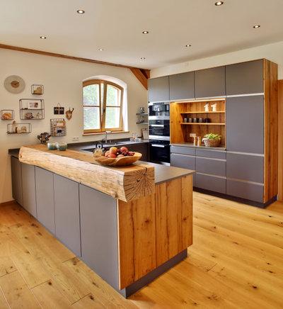 カントリー キッチン by ASE wohnkultur