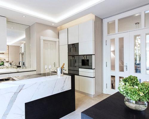 k chen mit travertin ideen bilder. Black Bedroom Furniture Sets. Home Design Ideas