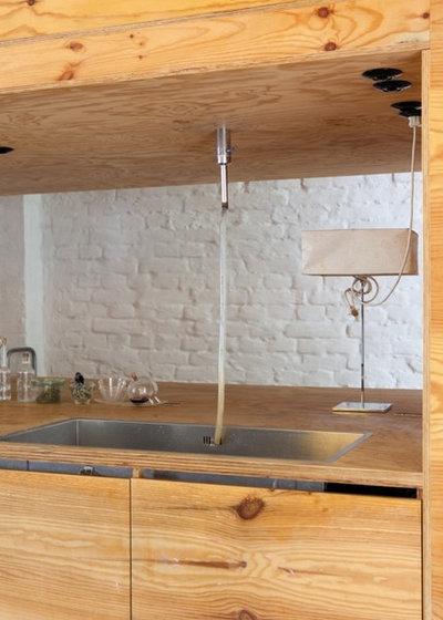 Contemporaneo Cucina by studio lot Architektur | Innenarchitektur