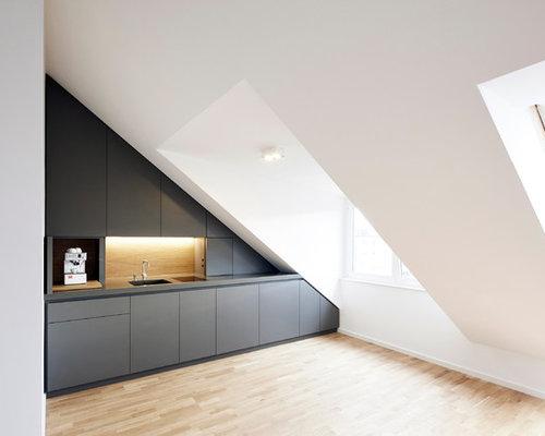Dachgeschoss Küche dachgeschoss küche ideen bilder houzz