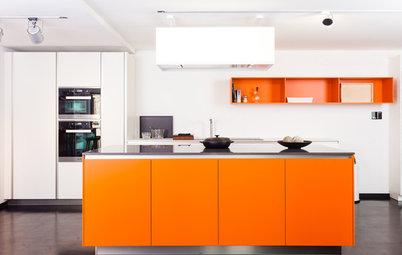 Ein Kessel Buntes: 14 Ideen für Küchenfarben