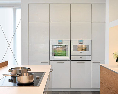 White Wall Oven Home Design Ideas, Pictures, Remodel and Decor