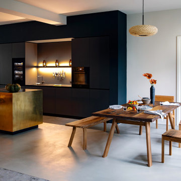Room Styling - Luxury Glam Open-concept