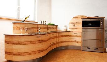 runde Designküche