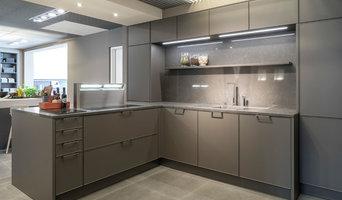 SieMatic 3003 RLM mit Dornbracht Armatur Küchenausstellung Stilwerk Hamburg