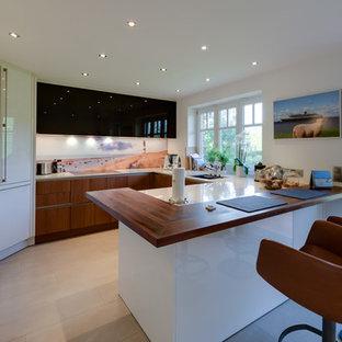 Geschlossene Küchen In U Form Ideen Design Bilder Houzz