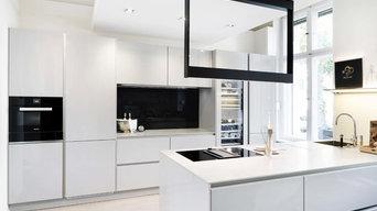Stilvolle Küchenzeile mit Kochinsel der Firma Siematic (S2)