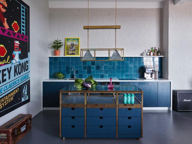 Eclectic Kitchen by Antonius Schimmelbusch Interior Design GmbH