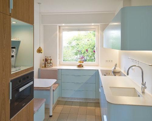 Küchenrückwand Weiß küchen mit küchenrückwand in weiß ideen design bilder houzz