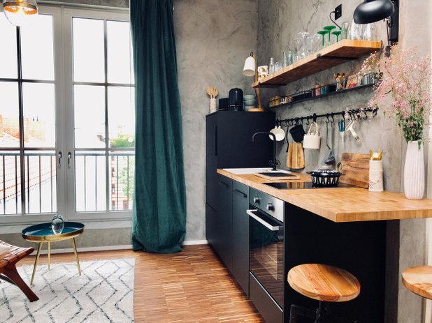 コンテンポラリー キッチン by Berliner Zimmermädchen