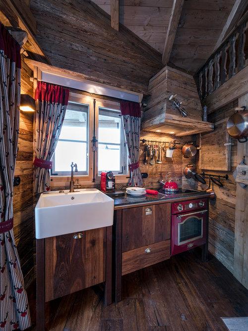 Fotos de cocinas dise os de cocinas r sticas peque as for Diseno de cocina rustica pequena