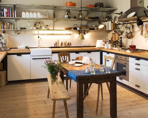 Landhausstil Küchen in U-Form Ideen, Design & Bilder | Houzz
