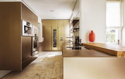 Ton in Ton: Diese Traumküche ist ein Goldstück
