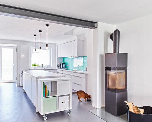 kochinsel mit herd ideen bilder houzz. Black Bedroom Furniture Sets. Home Design Ideas